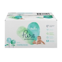 Pampers Pure Protection Size 1 Diapers 8-14 lbs Super Pack