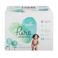 Pampers Pure Protection Size 5 Diapers 27+ lbs Super Pack