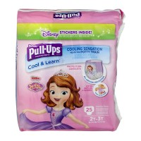 Huggies Pull-Ups Cool & Learn 2T-3T Training Pants Girls 18-34 lbs