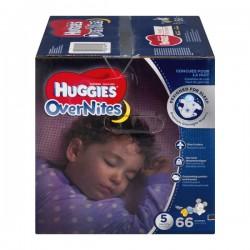Huggies Overnites Size 5 Diapers 27+ lbs