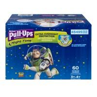 Huggies Pull-Ups Night Time 3T-4T Training Pants Boys 32-40 lbs