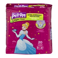 Huggies Pull-Ups Night Time 3T-4T Training Pants Girls 32-40 lbs
