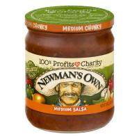 Newman's Own Chunky Salsa Medium All Natural