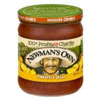 Newman's Own Chunky Pineapple Salsa Medium All Natural