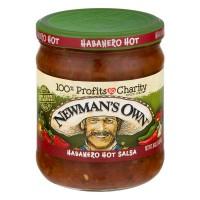 Newman's Own Habanero Salsa Hot All Natural