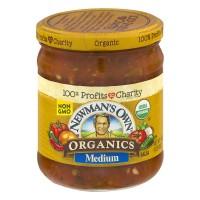 Newman's Own Organics Salsa Medium