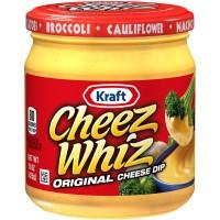 Kraft Cheez Whiz Cheese Dip Original