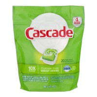 Cascade Dishwasher Detergent ActionPacs Shine Shield with Dawn Fresh Scent