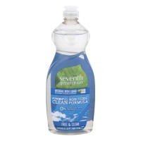 Seventh Generation Dish Liquid Free & Clear Natural
