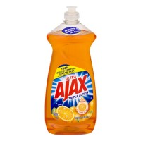 Ajax Triple Action Dish Liquid Orange