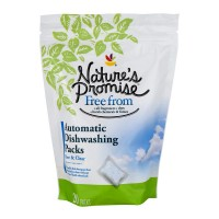 Nature's Promise Free from Automtic Dishwashing Packs Free & Clear