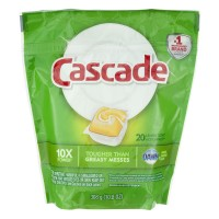 Cascade Dishwasher Detergent ActionPacs with Dawn Citrus Scent