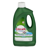 Cascade Complete Dishwasher Detergent Gel with Clorox Fresh Scent