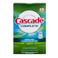 Cascade Complete Dishwasher Detergent Powder with Dawn Fresh Scent