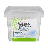 Nature's Promise Free from Automatic Dishwashing Packs Free & Clear