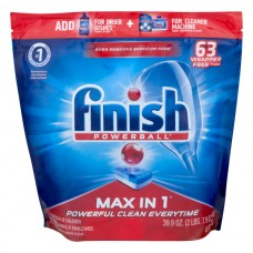 FINISH Powerball Dishwasher Detergent Max in 1 Fresh Scent