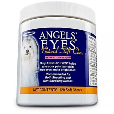 Angels' Eyes Natural Soft Chew Tear Stain Remover, Pack of 120