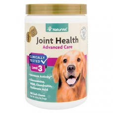 NaturVet Joint Health Soft Chews Level 3 Advanced for Dogs