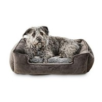 "Harmony Urban Luxe Gray Nester Dog Beds, 34"" L X 24"" W"