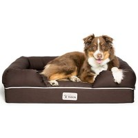 "PetFusion Ultimate Brown Dog Lounge, 36"" L X 28"" W"