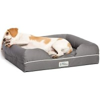 "PetFusion Ultimate Gray Dog Lounge, 25"" L X 20"" W"
