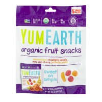 YumEarth Organics Fruit Snack Packs - 5 ct  Rating 0 stars(0 Ratings) The current price is $3.99