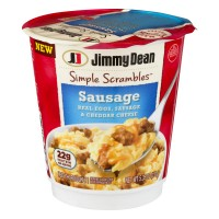 Jimmy Dean Simple Scrambles Eggs, Cheddar Cheese & Sausage