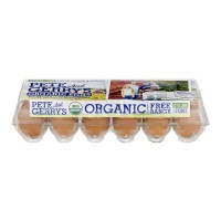 Pete and Gerry's Grade A Eggs Extra Large Fresh Organic