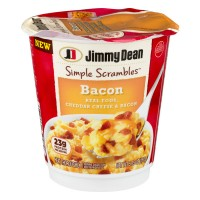 Jimmy Dean Simple Scrambles Eggs, Cheddar Cheese & Bacon