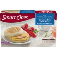 Smart Ones Tasty American Favorites Turkey Bacon English Muffin Sandwich