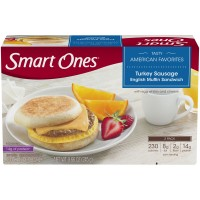 Smart Ones Tasty American Favorites Turkey Sausage English Muffin Sandwich