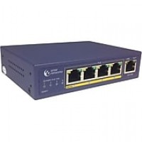 Amer 5 Port 10/100 Desktop Switch with 4 x 10/100 PoE 802.3af (SD4P1)