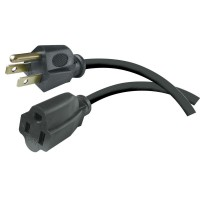 HDX 8 ft. 16/3 Indoor/Outdoor Workshop Extension Cord, Black