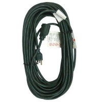 HDX 100 ft. 16/3 Indoor/Outdoor Extension Cord, Green