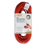HDX 50 ft. 16/3 Light-Duty Indoor/Outdoor Extension Cord