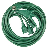 HDX 40ft. 16/3 Multi-Directional Outdoor Extension Cord