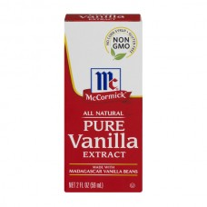 McCormick Pure Extract Vanilla Non-GMO Gluten Free No Corn Syrup