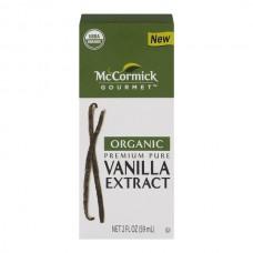 McCormick Gourmet Premium Pure Vanilla Extract Organic