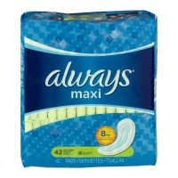 Always Maxi Pads Super Protection Long