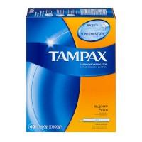 Tampax Tampons Super Plus Absorbency Anti-Slip Grip Applicator