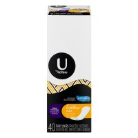 U by Kotex Lightdays Liners Extra Coverage Unscented