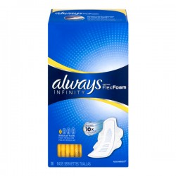 Always Infinity Pads Regular with Wings
