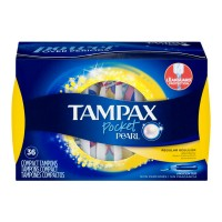 Tampax Pocket Pearl Tampons Regular Unscented