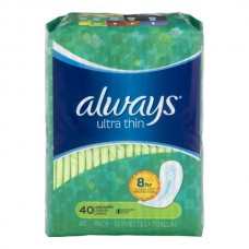 Always Pads Ultra Thin Super Protection Long