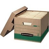 "Bankers Box Recycled Stor/File™ Letter/Legal, Lift-Off Lid, 10"" x 12"" x 15"", 20/PK (FLLWS1277008)"