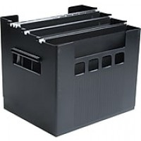 Decoflex® Large-Capacity Desktop File, Black