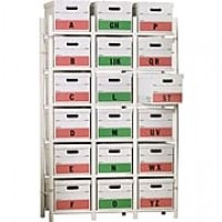 Bin Warehouse Storage System, File Box Model