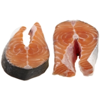 Salmon Steaks Farm-Raised Fresh