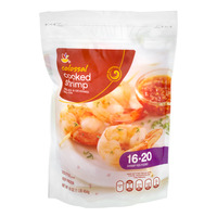 Stop & Shop Cooked Shrimp Tail-On Jumbo - 16-20 ct per lb Frozen