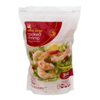 Stop & Shop Cooked Shrimp Tail On Large 31-40 ct per lb Frozen